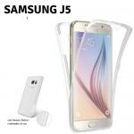 เคส Samsung J5 เคสซัมซุงเจห้า เคสซัมซุงJ5 เคสใส ประกบหน้า-หลัง ปกป้องได้รอบด้าน