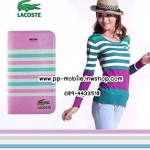 Leather Case Lacoste for Samsung Galaxy S4