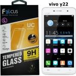 Focus โฟกัส ฟิล์มกันรอยมือถือ วีโว ฟิล์มกระจกนิรภัยกันกระแทก VIVO Y22