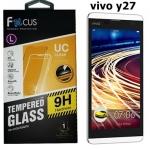 Focusโฟกัส ฟิล์มกระจกนิรภัยกันกระแทก VIVO Y27 ฟิล์มกันรอยมือถือวีโว