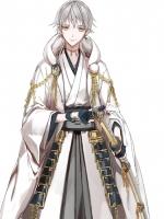 วิกคอสเพลย์ซอยสั้นสีขาวเงินหางยาว - Tsurumaru Kuninaga - Touken Ranbu