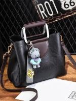 กระเป๋าถือ/สะพาย กระเป๋าใส่ไอโฟน iPhone มีตุ๊กตาหมีน้อยห้อยกระเป๋าน่ารักมากๆ มีหลายสีให้เลือกค่ะ