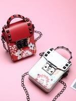 กระเป๋าสตางค์ใส่ไอโฟน พิมพ์ลายดอกไม้ จะถือหรือสะพายก็สวย มี 3 สีคือ ขาว แดง และดำค่ะ
