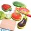 จิ๊กซอว์ไม้ชุดหั่นผักและปลา ของเล่นเสริมพัฒนาการบทบาทสมมติ thumbnail 4