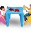 โต๊ะติวเตอร์หนูน้อย SIZE:โต๊ะ 58X58X52 cm. thumbnail 1