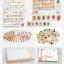 ของเล่นไม้ กล่องกระดานเสริมทักษะโดมิโน่คำศัพท์และตัวเลข Multipurpose study box thumbnail 3