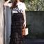 Luna skirt กระโปรงระบายชั้นเอวสูงตัวยาวทรงสอบค่ะ ประดับระบาย 11 ชั้น ทรงสวยน่ารักสุดๆ ชายระบายเย็บริมทุกชั้น ไม่รุ่ย แมตซ์กับเสื้อยืด เสื้อแขนกุดเหมือนนางแบบก็สวยแล้วค่ะ thumbnail 1