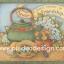 กระดาษอาร์ตพิมพ์ลาย สำหรับทำงาน เดคูพาจ Decoupage แนวภาพ lovely moment of friendship กาต้มน้ำโบราณาสีเขียว อยู่ข้างๆดอกไม้ สีหวานสวยมาก (ปลาดาวดีไซน์) thumbnail 1