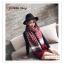 PR157 ผ้าพันคอแฟชั่น ผ้าไหมพรม พิมพ์ลายสวย ขนาด ยาว 190 กว้าง 65 cm. thumbnail 1