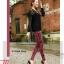 LG009 กางเกงเลคกิ้งขายาว สวยหรู มี 6 สีคะ thumbnail 2