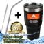 (ฟรีหลอดและแปรงขัด) ozarktrail แก้วเก็บความเย็น ของแท้ 100% จากอเมริกา ขนาด 30 Oz. สีดำ thumbnail 1