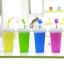 Pre-Order แก้วทำเสลอปี้ น้ำแข็งเกร็ดหิมะ ไอศกรีม แบบง่ายๆ ไม่ต้องใช้น้ำแข็ง ไม่ต้องปั่น เพียงแค่บีบๆ ก็ได้กินเสลอปี้รสที่ชอบแล้ว มี 4 สี thumbnail 1