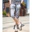 SP0027 กางเกงขาสั้น3ส่วน JOGGER GREY/ฺNAVY STRIPED thumbnail 2