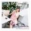 PR162 ผ้าพันคอแฟชั่น ผ้าชีฟอง พิมพ์ลายสวย ขนาด ยาว 180 กว้าง 90 cm. thumbnail 5