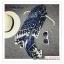 PR140 ผ้าพันคอแฟชั่น ผ้าฝ้าย พิมพ์ลายสวย ขนาด ยาว 180 กว้าง 100 cm. thumbnail 2