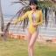 [พร้อมส่ง] ชุดว่ายน้ำแขนยาว วันพีช +บราลายสวย เซ็ต 2 ชิ้น thumbnail 1