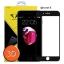 ฟิล์มกระจกเต็มจอ ฟิล์มกันรอยมือถือ IPhone 8 (ไอโฟน8)3D ขอบ Carbon fiber สีดำ thumbnail 1