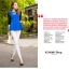 LG009 กางเกงเลคกิ้งขายาว สวยหรู มี 6 สีคะ thumbnail 4
