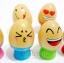 ของเล่นไม้ บล็อคไม้ไข่น่ารัก ฝึกสมดุลการทรงตัว thumbnail 5