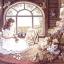 กระดาษสาพิมพ์ลาย rice paper เป็น กระดาษสา สำหรับทำงาน เดคูพาจ Decoupage แนวภาพ เจ้าหญิงจิตรกรน้อย ลงมือเพ้นท์รูปหมีหมู่ teddy bear เท็ดดี้ แบร์ เป็นที่ระลึก (ปลาดาว ดีไซน์) thumbnail 1