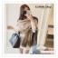 PR155 ผ้าพันคอแฟชั่น ผ้าไหมพรมหนา ขนาด ยาว 200 กว้าง 60 cm. thumbnail 4