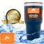 แก้วเก็บร้อนเย็น ozarktrail ของแท้ 100% คุณภาพเหมือน yeti ขนาด 30 Oz. สีกรม thumbnail 1