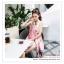 PR162 ผ้าพันคอแฟชั่น ผ้าชีฟอง พิมพ์ลายสวย ขนาด ยาว 180 กว้าง 90 cm. thumbnail 3