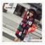 PR159 ผ้าพันคอแฟชั่น ผ้าไหมพรม พิมพ์ลายสวย ขนาด ยาว 190 กว้าง 65 cm. thumbnail 4