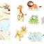 จิ๊กซอว์ไม้ ภาพสัตว์ป่าน่ารัก thumbnail 2