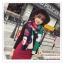 PR159 ผ้าพันคอแฟชั่น ผ้าไหมพรม พิมพ์ลายสวย ขนาด ยาว 190 กว้าง 65 cm. thumbnail 7