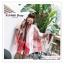 PR163 ผ้าพันคอแฟชั่น ผ้าชีฟอง พิมพ์ลายสวย ขนาด ยาว 180 กว้าง 90 cm. สำเนา thumbnail 4