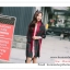 PR147 ผ้าพันคอแฟชั่น ผ้าคลุมไหล ลยตาราง ลายสวย เก๋ ไหมพรม ขนาด 190*65 ซม. thumbnail 3
