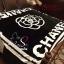 Camellia Chanel Blanket ผ้าห่มลายดอกคามิเลีย ซิกเนเจอร์แบรนด์ดังของ Chanel ผ้าเนื้อสำลี นิ่ม นุ่ม ลื่นสุดๆ เหมาะแก่การพกไปต่างจังหวัด ไปเที่ยว ซื้อเป็นของขวัญก็ได้นะคะ thumbnail 1