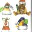 แนวภาพเทศกาล ภาพหมวกคริสมาสต์หลากหลายแบบ ภาพลายกระจายเต็มแผ่น กระดาษแนพคินสำหรับทำงาน เดคูพาจ Decoupage Paper Napkins ขนาด 21X22cm thumbnail 1