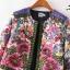 เสื้อสูทลายดอก ผ้าเนื้อดีพิมพ์ลายทั้งตัว แต่งแถบผ้าปักลายที่สาบเสื้อ งานละเอียดคุณภาพดี ซับในทั้งตัว ใส่เที่ยว ใส่คลุมทำงาน แมตซ์กับอะไรก็สวยเก๋มากค่ะ thumbnail 2