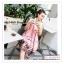 PR162 ผ้าพันคอแฟชั่น ผ้าชีฟอง พิมพ์ลายสวย ขนาด ยาว 180 กว้าง 90 cm. thumbnail 2