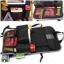 กระเป๋าเก็บของติดเบาะรถยนต์ กระเป๋าอเนกประสงค์ สีดำ+เขียว thumbnail 5