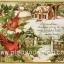 กระดาษอาร์ตพิมพ์ลาย สำหรับทำงาน เดคูพาจ Decoupage แนวภาำพ บ้านและสวน นกน้อยตัวอ้วน 2 ตัว เกาะกิ่งไม้อยู่หน้าบ้านที่มีหิมะปกคลุมในฤดูหนาว (ปลาดาวดีไซน์) thumbnail 1