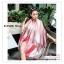 PR163 ผ้าพันคอแฟชั่น ผ้าชีฟอง พิมพ์ลายสวย ขนาด ยาว 180 กว้าง 90 cm. สำเนา thumbnail 1