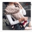 PR164 ผ้าพันคอแฟชั่น ผ้าไหมพรม พิมพ์ลายสวย ขนาด ยาว 190 กว้าง 65 cm. thumbnail 4