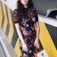 Zara Dress เดรสผ้าlip พิมพ์ลายสไตล์zaraค่ะ งานน่ารักมาก ทรงเข้ารูป ใส่เป็นเดรสทำงาน ใส่เที่ยวแมตซ์กับผ้าใบสักคู่เข้ากันดีนะคะ thumbnail 3
