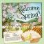 กระดาษสาพิมพ์ลาย สำหรับทำงาน เดคูพาจ Decoupage แนวภาำพ Welcome Spring ฉากหลังเป็นบ้านในฤดูใบไม้ผลิ กับสูตรทำขนม Lemon pie สีหวานๆ (ปลาดาวดีไซน์) thumbnail 1