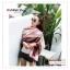 PR163 ผ้าพันคอแฟชั่น ผ้าชีฟอง พิมพ์ลายสวย ขนาด ยาว 180 กว้าง 90 cm. สำเนา thumbnail 8