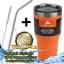 (ฟรีหลอด+แปรงขัด) แก้วเก็บเย็น ozarktrail ของแท้ 100% ขนาด 30 Oz. สีส้ม เก็บร้อนเย็นได้นาน 24ชั่วโมง thumbnail 1