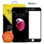Diamond ฟิล์มกระจกเต็มจอ Iphone 7 3D ขอบ Carbon fiber สีดำ /ไอโฟน 7 thumbnail 1
