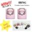 ซื้อ 2 ชิ้น ฟรี 1 ชิ้น IRing ที่ตั้งมือถือ แท็ปเล็ต แบบวงแหวนสำหรับติดฝาหลัง สีชมพูพาสเทล thumbnail 1