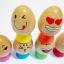 ของเล่นไม้ บล็อคไม้ไข่น่ารัก ฝึกสมดุลการทรงตัว thumbnail 4
