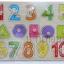 ของเล่นไม้จิ๊กซอว์จับคู่เงา 123 และรูปทรง thumbnail 6