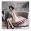 PR164 ผ้าพันคอแฟชั่น ผ้าไหมพรม พิมพ์ลายสวย ขนาด ยาว 190 กว้าง 65 cm. thumbnail 6