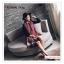PR157 ผ้าพันคอแฟชั่น ผ้าไหมพรม พิมพ์ลายสวย ขนาด ยาว 190 กว้าง 65 cm. thumbnail 6